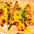 hướng dẫn làm bắp cải cuộn thịt nướng, cách làm món Enchiladas phô mai nướng đúng điệu 10