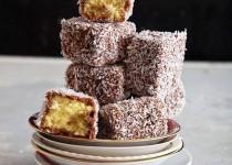 Công thức cho món bánh lamington xinh xắn từ nước Úc
