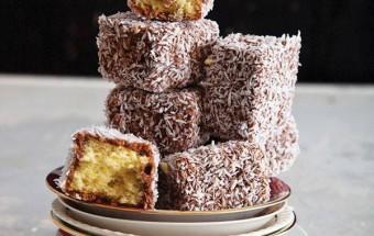 Nấu ăn, Công thức cho món bánh lamington xinh xắn từ nước Úc kết quả 1