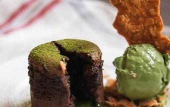 Nấu ăn món ngon mỗi ngày với Bột trà xanh, Cách làm lava cake ngọt ngào siêu hấp dẫn kết quả