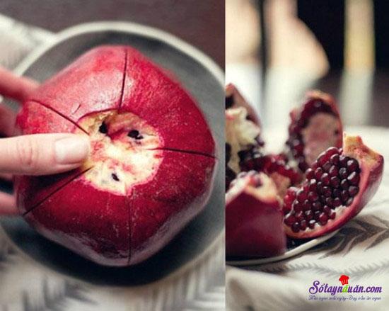 Mẹo gọt trái cây siêu nhanh 2