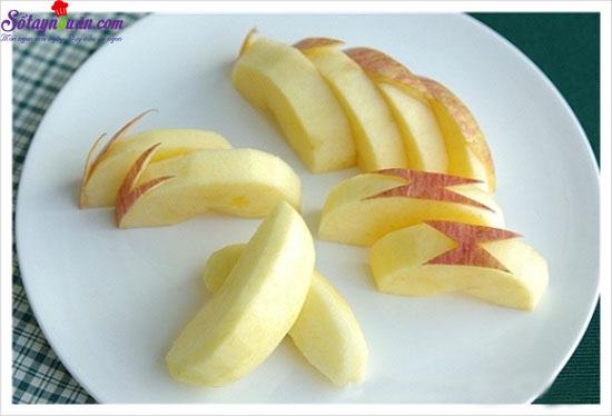 Mẹo gọt trái cây siêu nhanh 4
