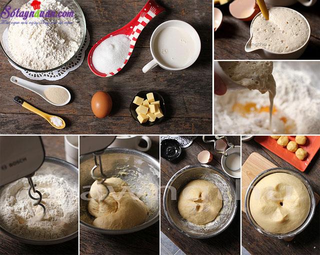 cách làm bánh melon pan ngon tuyệt 1