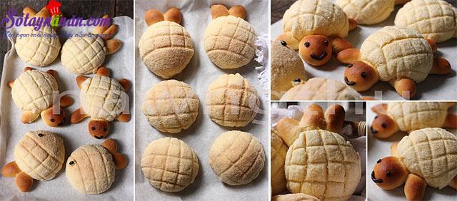 cách làm bánh melon pan ngon tuyệt 5