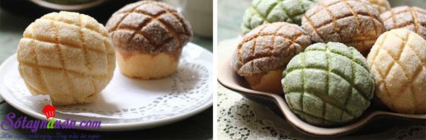 cách làm bánh melon pan ngon tuyệt 8