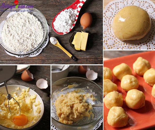 cách làm bánh melon pan ngon tuyệt 2