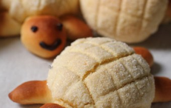 Nấu ăn món ngon mỗi ngày với Bơ nhạt, cách làm bánh melon pan ngon tuyệt 6