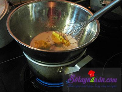 Công thức bánh bông lan cuộn trứng muối xốp mềm khó cưỡng 3