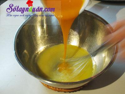 Công thức bánh bông lan cuộn trứng muối xốp mềm khó cưỡng 4