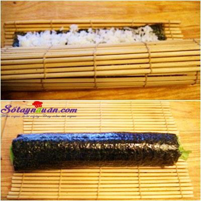 Công thức cho món trứng bọc kimbap bò ngon đúng điệu 5