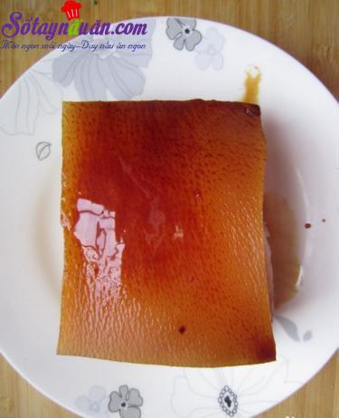 Độc đáo với thịt sốt hình kim tự tháp - món ngon Hàng Châu 4