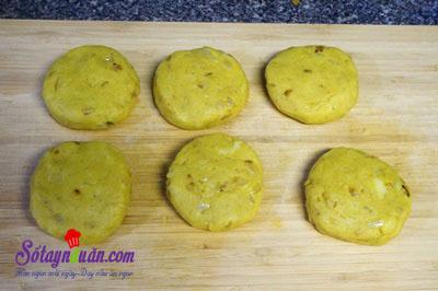 Hướng dẫn làm bánh khoai tây vị cà ri cực ngon cực dễ 7