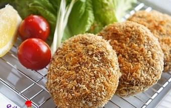 Nấu ăn món ngon mỗi ngày với Bột chiên xù, Hướng dẫn làm bánh khoai tây vị cà ri cực ngon cực dễ kết quả