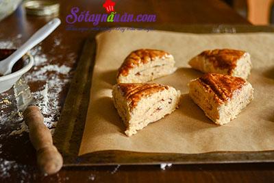 Hướng dẫn làm bánh scones hương quế giòn tan thơm ngon 11