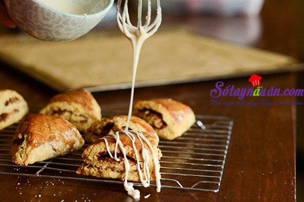 Hướng dẫn làm bánh scones hương quế giòn tan thơm ngon 13
