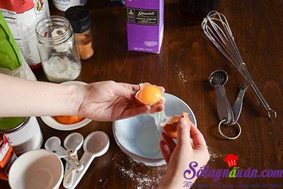 Hướng dẫn làm bánh scones hương quế giòn tan thơm ngon 4