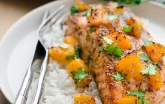 Nấu ăn món ngon mỗi ngày với Nước tương, Hướng dẫn làm cá hồi xốt đào chua ngọt thơm ngon khó cưỡng kết quả