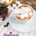 đá bào cafe, Hướng dẫn làm kẹo marshmallow 2 lớp dẻo, ngon hết sẩy kết quả