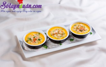 Nấu ăn món ngon mỗi ngày với Nước tương, Đậu hũ hấp tôm cho ngày nắng nóng