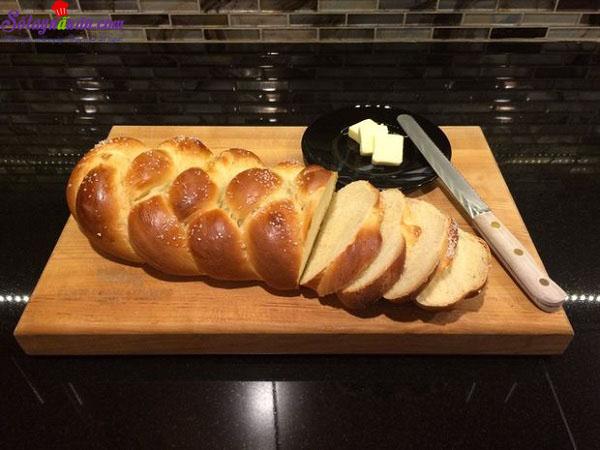 cách làm bánh mì hoa cúc 11