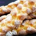 bánh giò chay, cách làm bánh mì hoa cúc 12