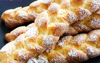 Món ăn cho bé, cách làm bánh mì hoa cúc 12