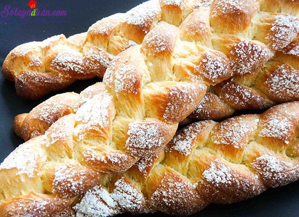 cách làm bánh mì hoa cúc 12