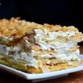 bánh dẻo nhân đậu xanh, cách làm bánh napoleon 9