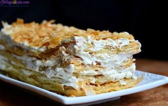 Món tráng miệng, cách làm bánh napoleon 9