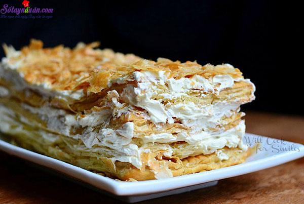 cách làm bánh napoleon 9