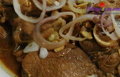 Cách làm beefsteak phiên bản Philippines nhìn là muốn ăn 6