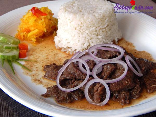 Cách làm beefsteak phiên bản Philippines nhìn là muốn ăn kết quả