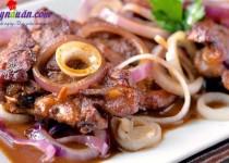 Cách làm beefsteak phiên bản Philippines nhìn là muốn ăn