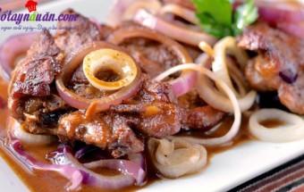 Món nhậu, Cách làm beefsteak phiên bản Philippines nhìn là muốn ăn kết quả
