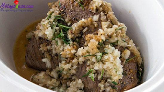 thịt bò kho khoai lang kiểu Ý 5