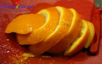 Công thức cho món bánh cam hạnh nhân ngon ngọt ngào 2
