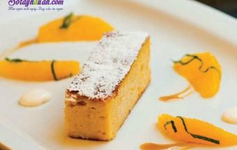 Nấu ăn món ngon mỗi ngày với Bột nở, Công thức cho món bánh cam hạnh nhân ngon ngọt ngào kết quả