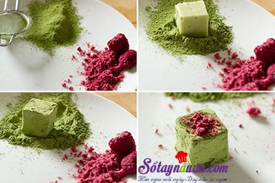 Hướng dẫn làm matcha truffle siêu hấp dẫn 12