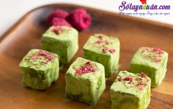 Nấu ăn món ngon mỗi ngày với bơ lạt, Hướng dẫn làm matcha truffle siêu hấp dẫn kết quả