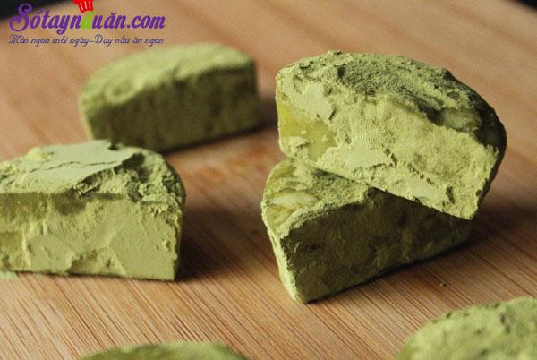 Hướng dẫn làm matcha truffle siêu hấp dẫn thành phẩm