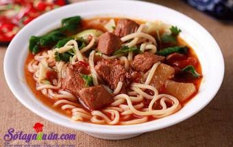 Nấu ăn món ngon mỗi ngày với Cà chua, Hướng dẫn món mì thịt bò hầm chiêu đãi cả nhà ngày se lạnh kết quả