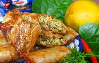 Nấu ăn món ngon mỗi ngày với Nấm hương, cách làm nem rươi 10