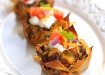 Cupcake taco – bạn đã thử chưa?