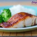 xốt teriyaki của nhật bản, Cách làm cá hồi rán kèm xốt xì dầu ngon mê mẩn thành phẩm