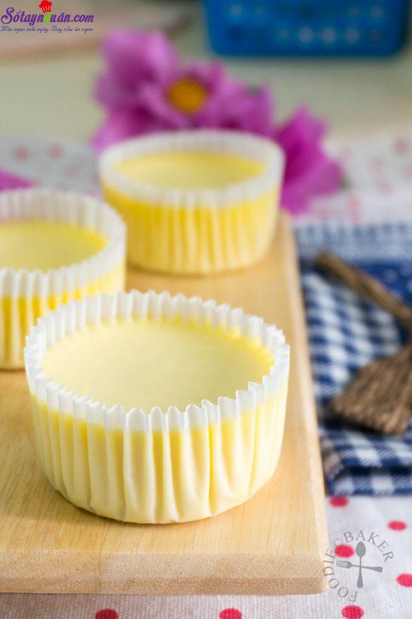 cách làm cupcake sầu riêng 11