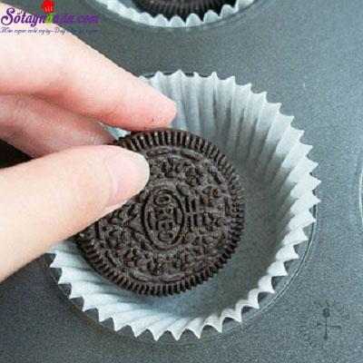 cách làm cupcake sầu riêng 9