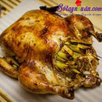 Nấu ăn món ngon mỗi ngày với Sả, Cách làm gà rôti tuyệt ngon khó cưỡng