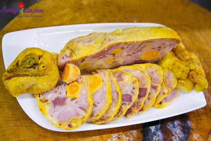 Cách làm gà rút xương nhồi jambon ngon chảy nước miếng