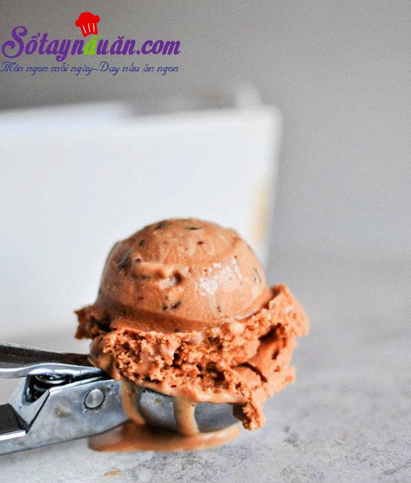 Cách làm kem socola caramel siêu hấp dẫn kết quả