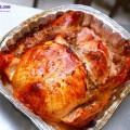 cơm kiểu pizza, cách làm gà nướng nhồi thập cẩm 11